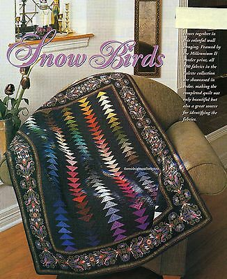 Snow Birds Quilt Pattern Pieced/Paper Pieced JB