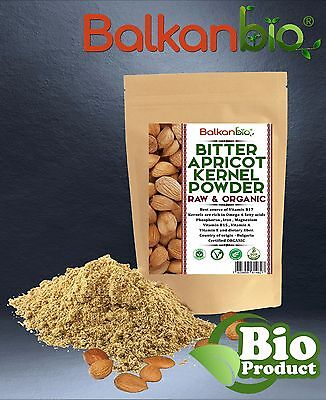 Bitter Apricot Kernel Powder BIO / Raw & Organic Vitamins BEST QUALITY 14