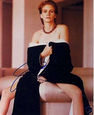 JULIA ROBERTS AUTOGRAPH SIGNED PP PHOTO POSTER