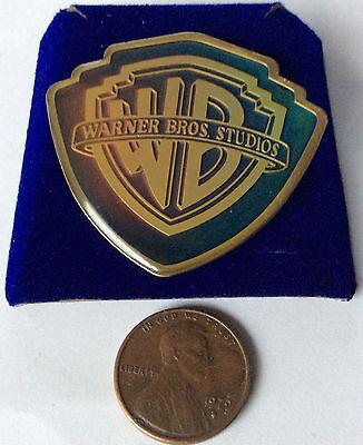 Warner Brothers  VINTAGE EMBLEM / SYMBOL CLOISONNE PIN