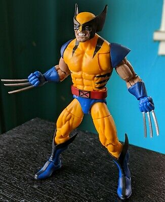 Marvel Legends Wolverine (Tiger Stripe, Custom Metal Claws, can of beams)