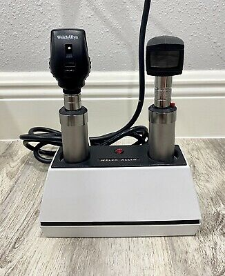 Welch Allyn Desk Charger With Two Handles Heads