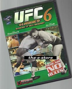 UFC - Ultimate Fighting Championship - DVD - Classics 6.