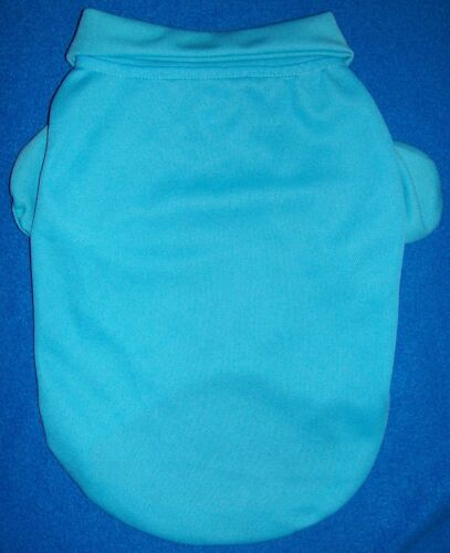 new-size-medium-runs-small-aqua-blue-polo-shirt-dog-pet-clothing-1.JPG