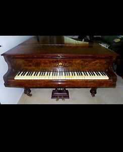 Antique 1890 German Baby Grand Piano Caboolture Caboolture Area Preview