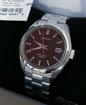 NEW Seiko SARB033 Mechanical Automatic Watch Made in Japan w/ Sapphire Crystal