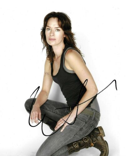 Lena Headey Signed Terminator: The Sarah Connor Chronicles 10x8 Photo AFTAL