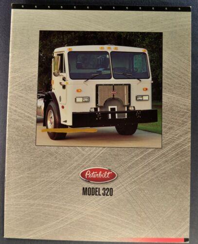 1994-1995 Peterbilt Truck Brochure 320 Garbage Refuse Dump Excellent Original
