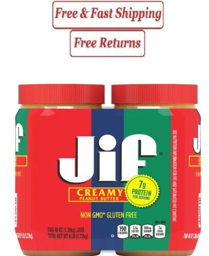 Jif Creamy Peanut Butter (48 oz., 2 pk.)