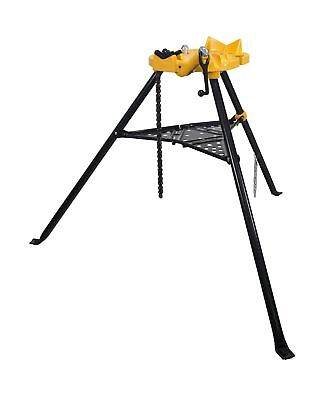 Steel Dragon Tools 460 6 Tripod Pipe Chain Vise Stand Fits Ridgid 72037 36273
