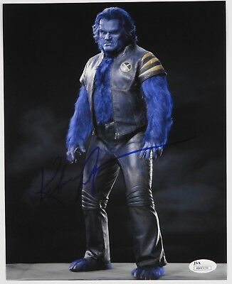 Kelsey Grammer The Beast (Kelsey Grammer X-men The Last Stand signed autograph 8 x 10 Photo JSA The)
