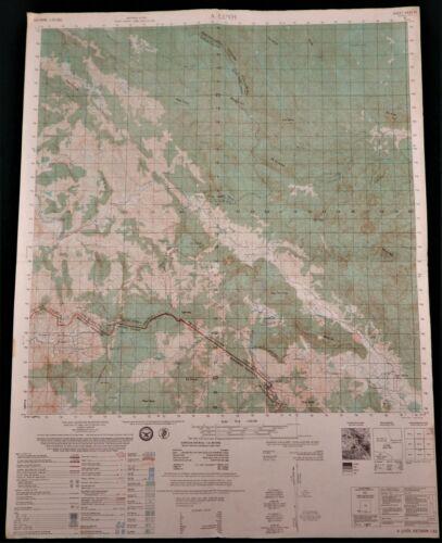 MAP  –  VIETNAM WAR  –  HAMBURGER HILL – A SHAU VALLEY - 6441-IV