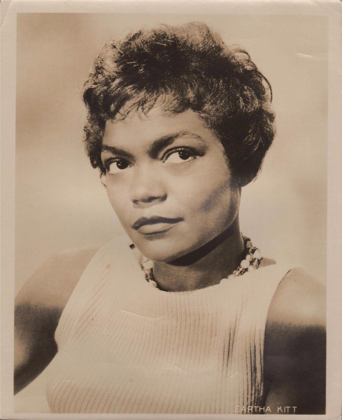 "Eartha kitt in ""anna lucasta"" - original vintage portrait - 1958"
