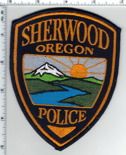 Sherwood Police (Oregon) Shoulder Patch - new from the 1980