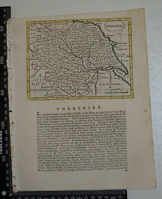 1785 - John Seller / Francis Grose Yorkshire Map