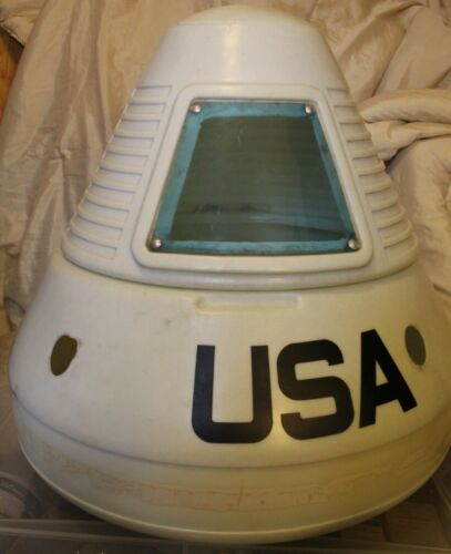 Vintage Apollo Space Capsule Toy Box