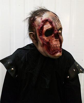 Herren Unheimliche Zombie-Maske Latex Halloween Kostüm Walking Dead - Unheimliche Maske