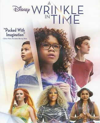 A Wrinkle in Time 2018 Disney fantasy adventure movie, new DVD, Oprah W, Reese W](Halloween Movies In French)