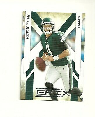 2010 Epix Silver #74 Kevin Kolb /250 Philadelphia Eagles Houston