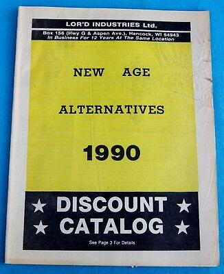 Discount Catalogues (NEW AGES ALTERNATIVES 1990 , LOR'D INDUSTRIES , DISCOUNT CATALOG)