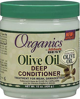 Africas Best Organics Olive Oil Deep Conditioner 15 Oz