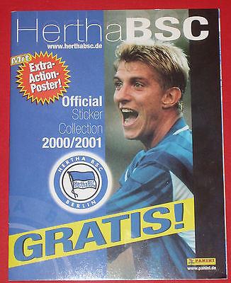 Panini LEERALBUM Hertha BSC Berlin 2000 / 2001 - Album TOP RAR...