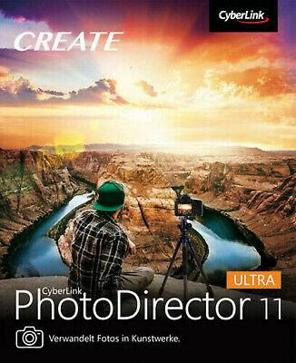Cyberlink PhotoDirector 11 Lebenslange Digitale Lizenz / Download-Link