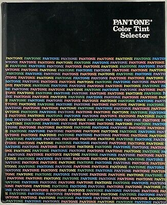 Vintage Pantone Color Tint Selector Reference Book 1984 2nd Edition Hardback 3r