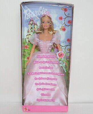 2002 Sleeping Beauty Barbie Doll Based on Tales from The Brothers Grimm