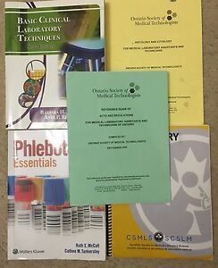 Medix college lab technician course books