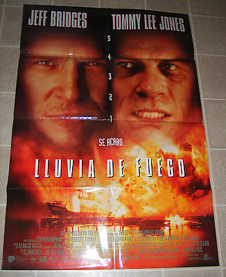 1994 Blown Away, Jeff Bridges 1 sheet original 27x40, rare border version