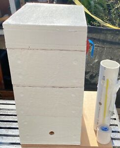 Australian Native Bee Hive -Empty- Oath 3 level with honey super