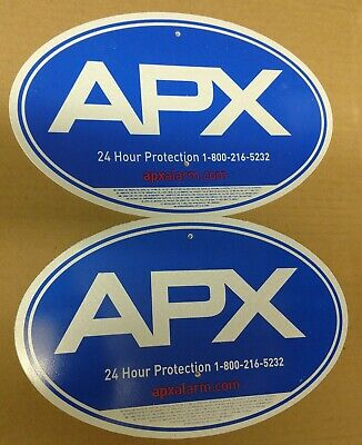 Security Yard Sign - Apx Quantity 2