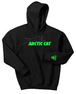 ARCTIC-CAT-HOODIE-SWEAT-SHIRT-UTV-ATV-SLED-PROWLER-SIDE-BY-SIDE-SNOW-MOBILE-QUAD