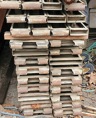Metal Concrete Forms Heavy Duty Mixed Lot Of 30