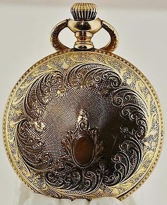 Vintage Elgin 7 jewel Grade 269 Ornate case Pocket Watch