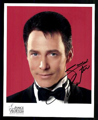 Lance Burton Autogrammkarte Original Signiert # BC G 23188