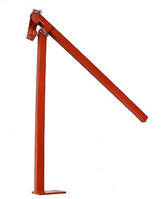T-post Puller Steel Studded Fence Post Remover Lifter Quality Speeco Equivalent