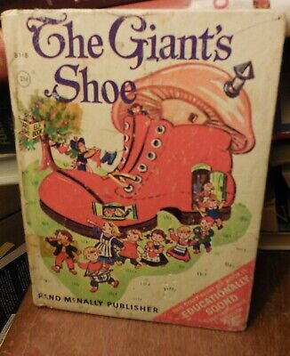 The Giant's Shoe, Jessica Nelson North, Rand McNally Elf Book, 1967