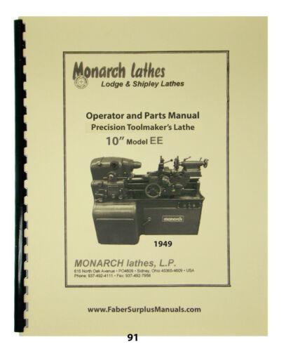 """Monarch 10"""" Model EE Toolmaker"""