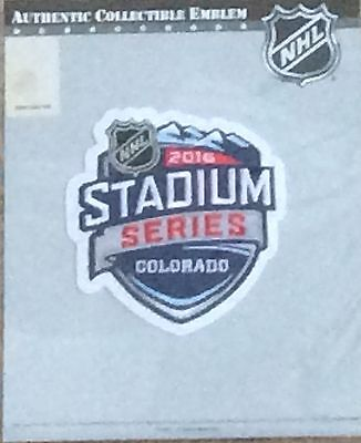 2016 STADIUM SERIES JERSEY PATCH. COLORADO AVALANCHE DETROIT RED WINGS -