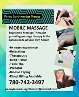 Mobile Massage with Penny Gardner
