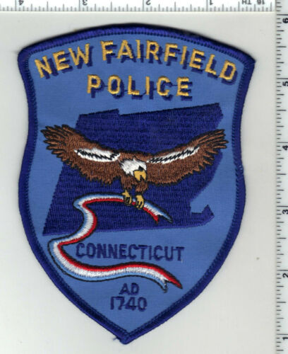 New Fairfield Police (Connecticut) 3rd Issue Shoulder Patch