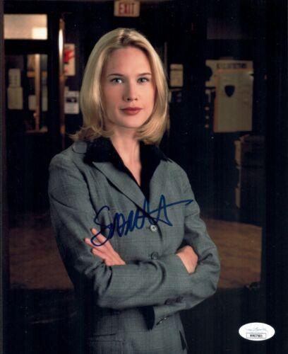 STEPHANIE MARCH Signed Rare LAW & ORDER SVU 8x10 Photo Autograph JSA COA