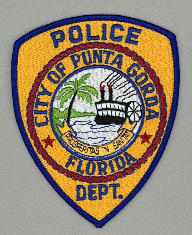 Punta Gorda FL Florida Police Patch