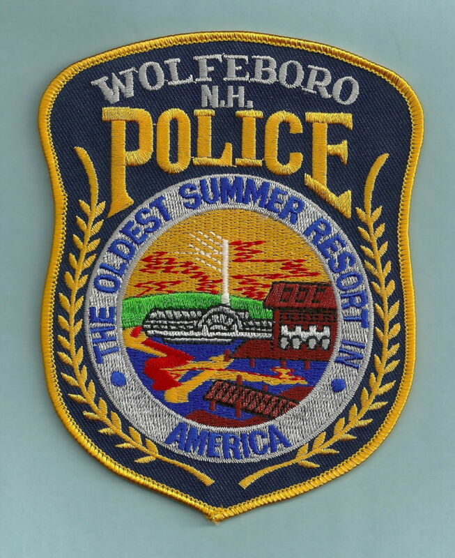 WOLFEBORO NEW HAMPSHIRE POLICE SHOULDER PATCH