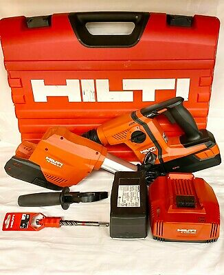 Hilti Te 6-a36 Rotary Hammer W Te Drs-6-a Case Battery And Charger 36v