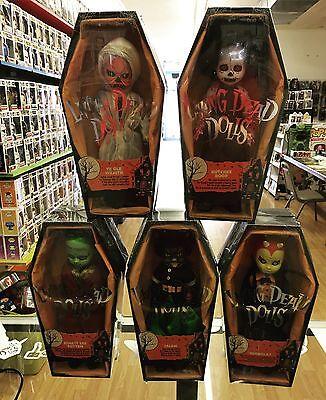 Mezco Living Dead Dolls Series 32 Vintage Halloween Complete Set Of 5