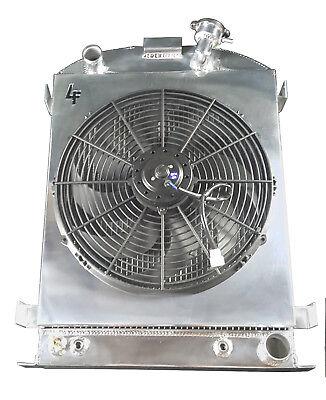 3 Row 1932 Ford High Boy Champion Radiator Shroud & 16