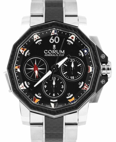 Corum Admiral's Cup Challenger 44mm Black Carbon Stainless 986.691.11/V761 AN92 - watch picture 1